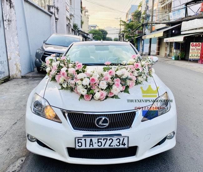 Dòng xe cưới LEXUS IS250 MUI TRẦN