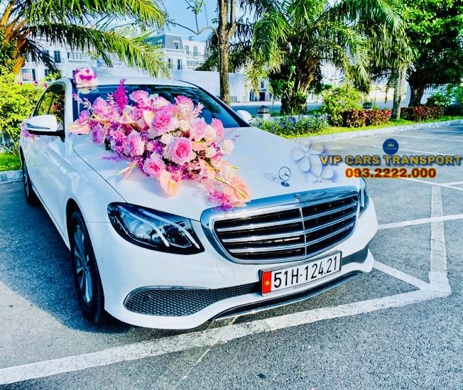 Dòng xe cưới HẠNG SANG MERCEDES E CLASS ALL NEW 2020