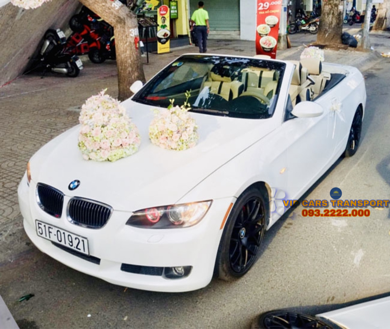 Dòng xe cưới BMW M3 MUI TRẦN
